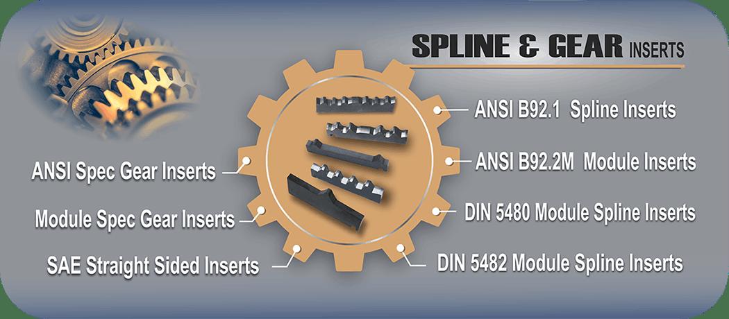Spline Gear Inserts