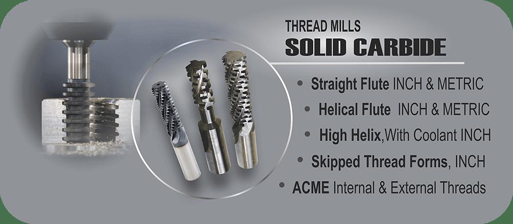 Solid Carbide Thread Mills